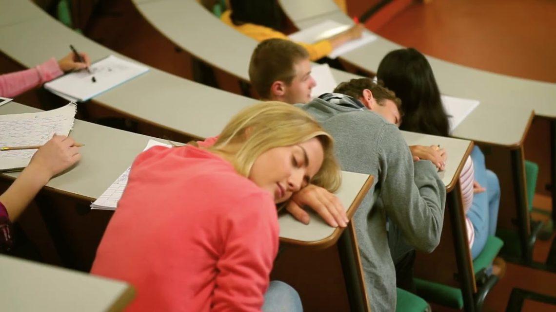 Как не уснуть на паре