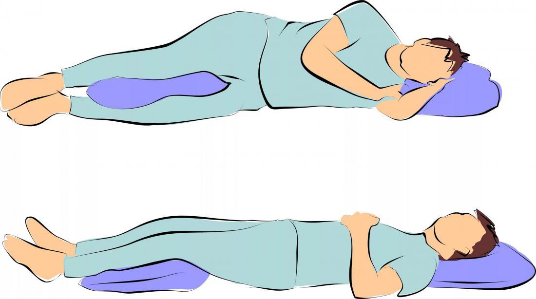 Как лучше спать на спине или на боку