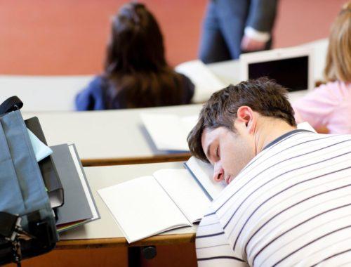 Как не уснуть на лекции