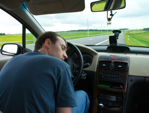Как не уснуть за рулем на трассе