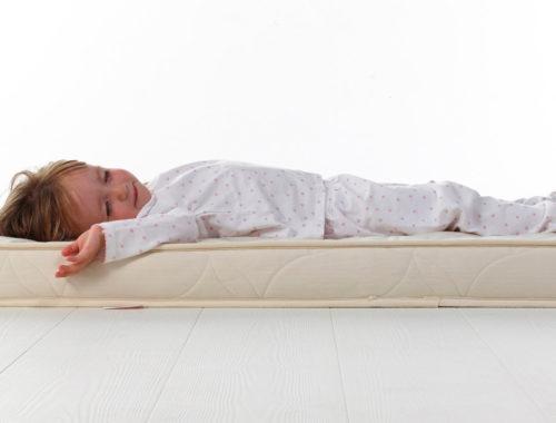 На каких матрасах спать детям