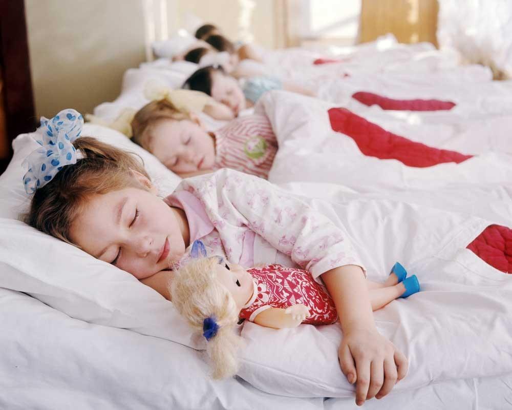Время дневного сна ребенка