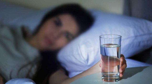 Можно ли пить перед сном