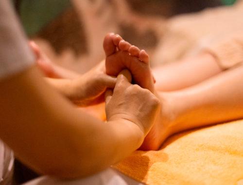Польза массажа перед сном
