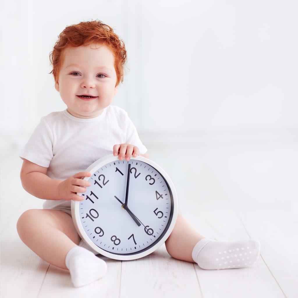 Время сна для младенца