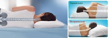 Как спать на ортопедической подушке с выемкой