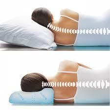 Как спать на ортопедической подушке