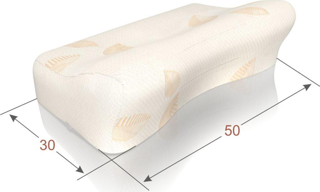 ортопедическая подушка выемка для плеча